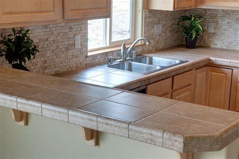 kitchen tile countertops the beginner s guide to kitchen countertops justrenttoown