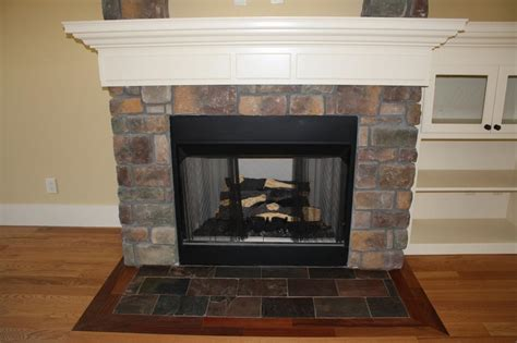 new construction fireplace from classic tile inc