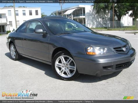 2003 acura cl 3 2 type s anthracite gray metallic