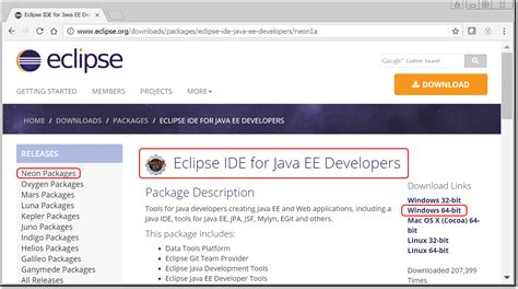and install eclipse for java setup a java ide with eclipse neon and tomcat pega exchange