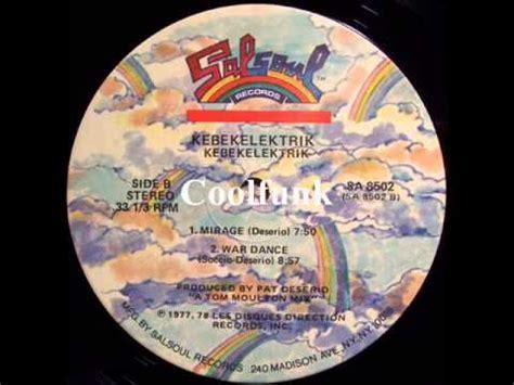 "kebekelektrik war dance (12"" electro disco 1977) youtube"