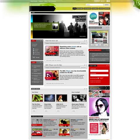 rocket theme templates rockettheme mixxmag 1 5 2 joomla downloads