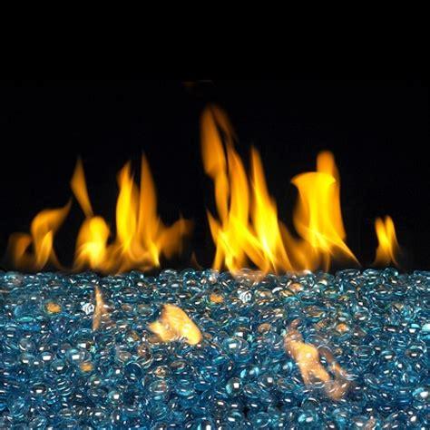 Fireplace Glass Stones by Buy Glass Rocks Blue Topaz Gems San Francisco
