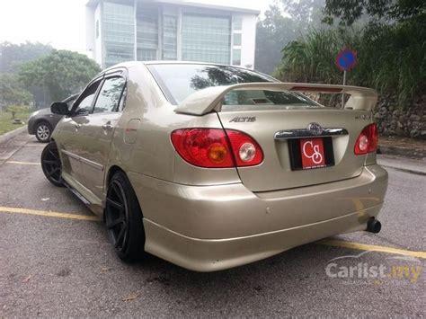 Karpet Lumpur Altis 2004 toyota corolla altis 2003 g 1 8 in kuala lumpur automatic sedan bronze for rm 28 520 2514636
