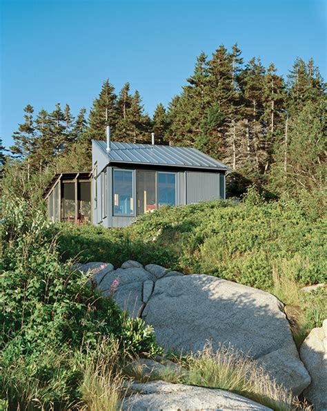 Maine Cottage by Tiny Maine Cottage Is Completely Self Sustainable