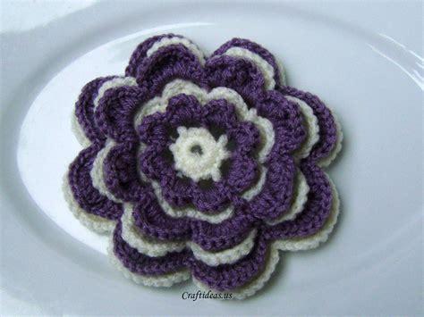 flowers tutorial crochet flower tutorial craft ideas