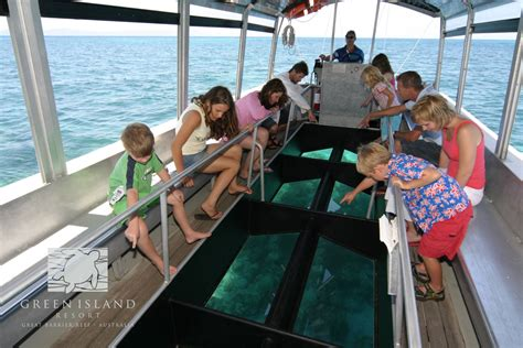 glass bottom boat tour glass bottom boat green island