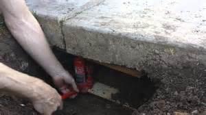 Raising Concrete Floor Height by Raise Concrete Slab Diy Crafts