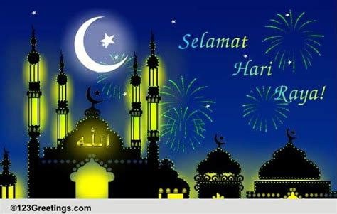 Wedding Wishes In Bahasa Indonesia by Selamat Hari Raya Wish Free Hari Raya Ecards Greeting