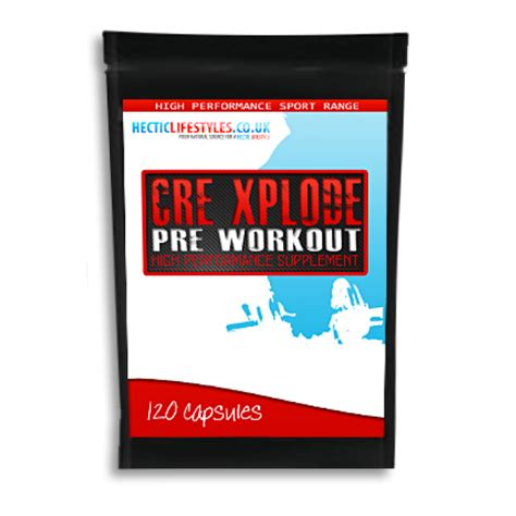 cre 8 creatine cre xplode pre workout 120 capsules with creatine aakg