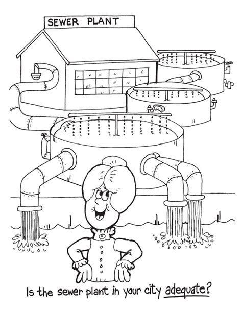 water plane coloring page help the environment kids environment kids health