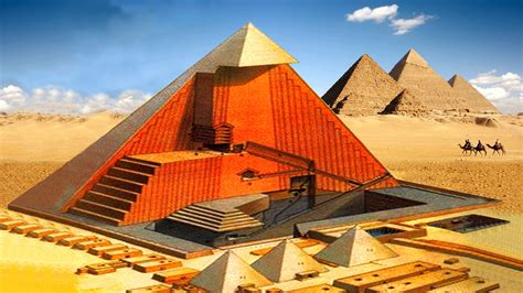 great pyramid cross section 10 bewildering facts about the great pyramid of giza that
