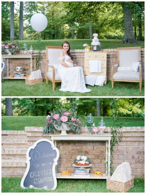 outdoor cing shower ideas whimsical outdoor baby shower pretty my