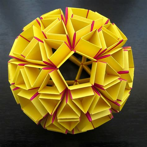 Dodecahedron Origami - origami dodecahedron 171 embroidery origami