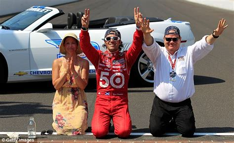 Judds Husband Wins Indianapolis 500 by Indy 500 Judd Leads Celebrations As Husband Dario