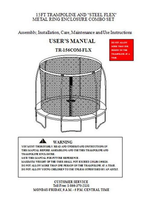sportspower swing set manual manual for the 15 sportspower model tr 156com flx