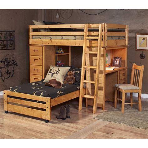 loft bedroom set twin loft bedroom set chest desk ladder cinnamon finish dcg stores