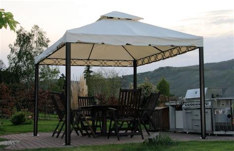 pavillon 3x4m stabil luxus pavillion valencia 3x4m creme beige 240g m 178