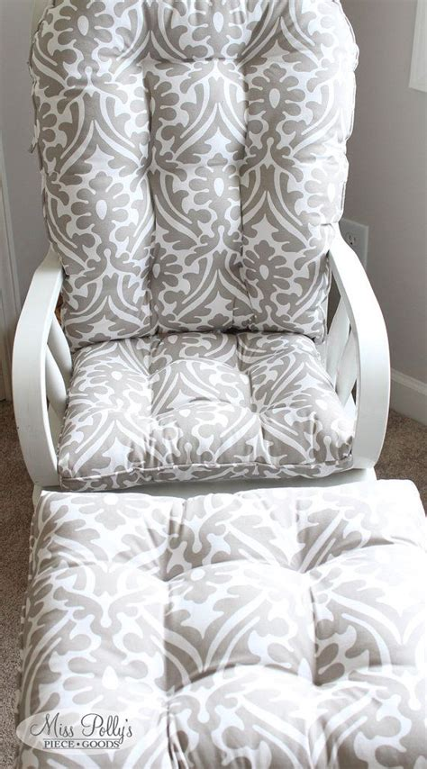 glider and ottoman cushion covers 274 best chair cushion fabric options images on pinterest