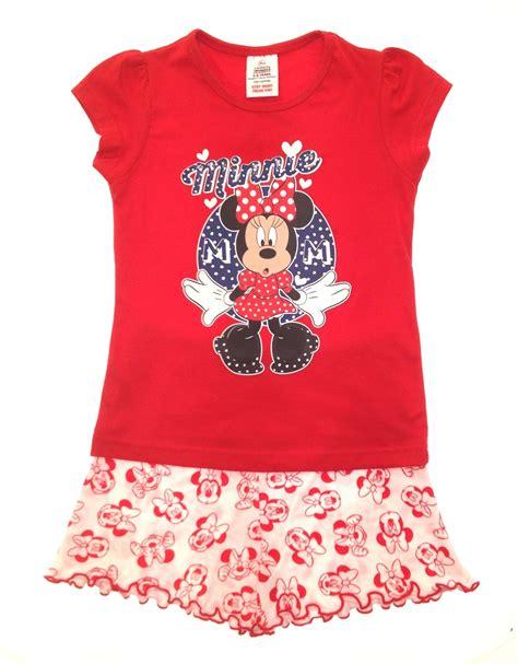 Set Minnie Wedges official disney minnie mouse pyjamas pj s set size 1 4 years ebay