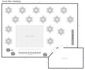 free room layout template wedding reception table layout template decoration