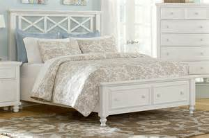 Pulaski Nightstand Vaughan Bassett Ellington White Queen Garden Storage Bed