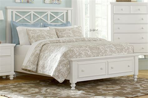 white bed queen classy white painted oak wood queen bed frame with front
