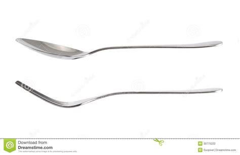 Free Kitchen Design Tool fork and spoon kitchenware isolated over white stock
