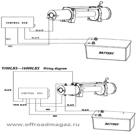 warrior winch wiring diagram wiring diagram and schematic