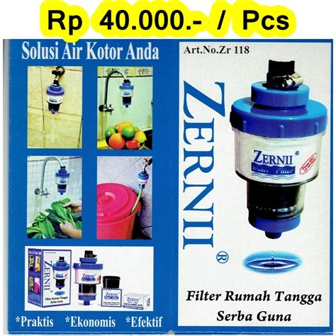Filter Air Zernii jual filter air zernii efektif