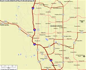 colorado springs subway map map travel