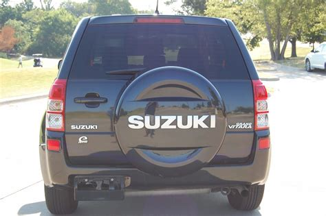 Spare Wheel Cover Suzuki Grand Vitara 2008 Suzuki Grand Vitara 4dr Suv W Spare Tire Cover
