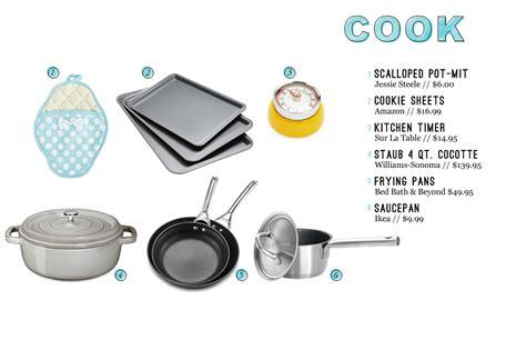 kitchen essentials kitchen essentials for the everygirl the everygirl