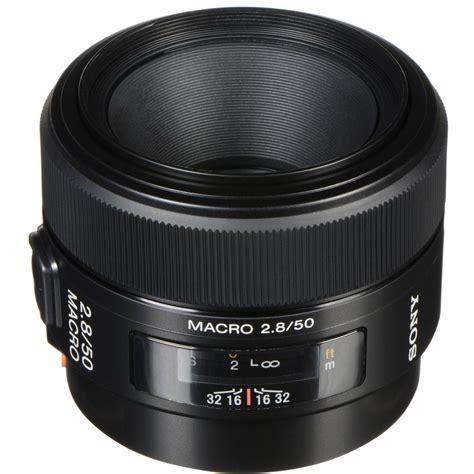 macro lens sony 50mm f 2 8 macro lens sal50m28 b h photo