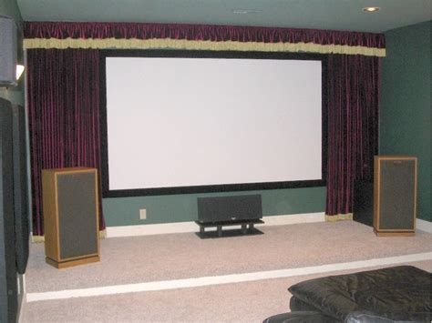 false curtains need advice on attaching black velvet to wall avs forum