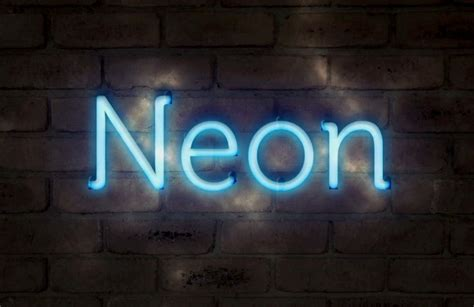 adobe photoshop neon text tutorial create a realistic neon text effect in photoshop