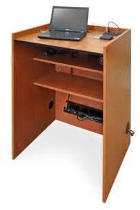 podium desk laptop computer podiums laptop computer lecterns and
