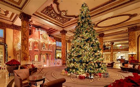 best decorated holiday houses san francisco fairmont san francisco erects a 10 000 brick gingerbread house in lobby