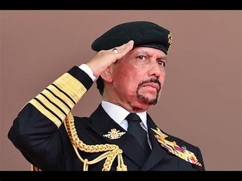 sultan hassanal bolkiah brunei sultan hassanal bolkiah arrives for state visit