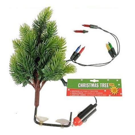 12 volt christmas tree lights 12v car dashboard tree with 5 lights interior auto decoration