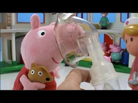 video for kids youtube peppa pig toys videos visits hospital tonsils removed