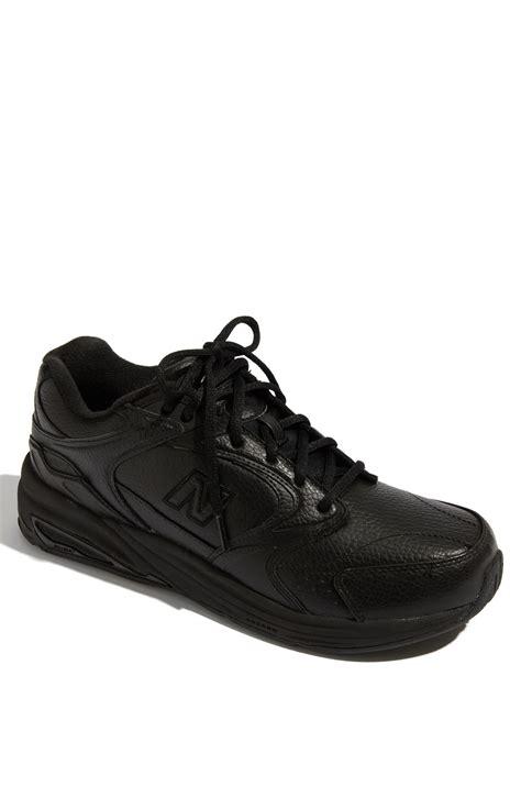 black walking sneakers new balance 927 walking shoe in black for lyst
