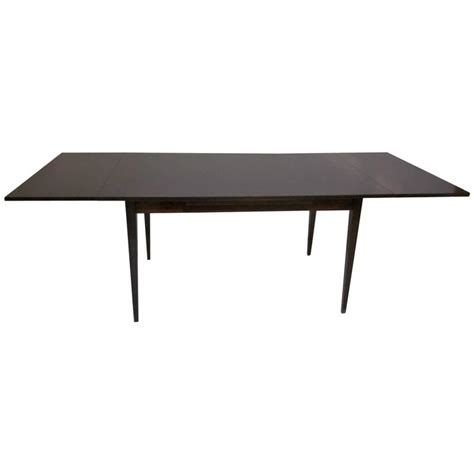 pull out dining room table danish dining table with pull out leaves in the style of