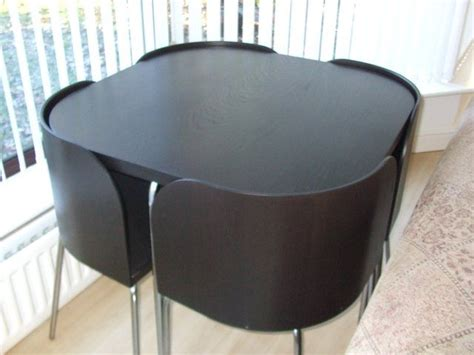 space saving chairs ikea ikea fusion dining table and chairs for sale this space