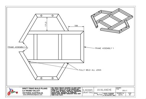 Caisse à Outils 2399 by Drift Trike Plan Frame Projects To Try
