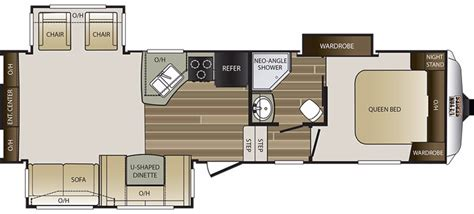 cougar 5th wheel floor plans 2017 keystone cougar 283retwe cing world of st
