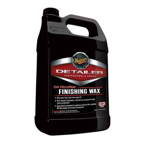How To Remove Wax From Microfiber by Meguiar S Microfiber Finishing Wax D30101 1 Gal