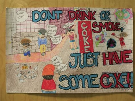 franklin middle  poster contest winners owings mills