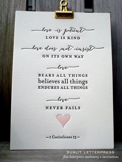 Wedding Bible Verses Is Patient by Bible Verse Print Is Patient 1 Corinthians 13