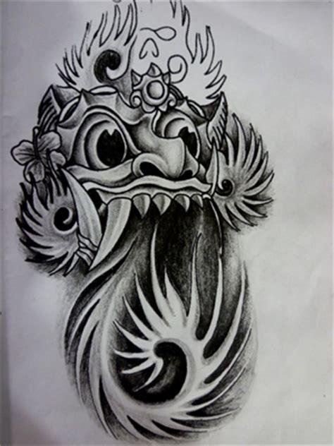 tattoo goo di bali tato tribal 3d temporer abstrak naga tato